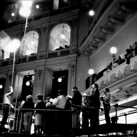 The Astra Choir performing at the State Library of Victoria