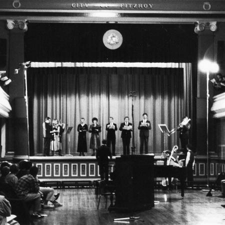 Astra concert at Fitzroy Town Hall