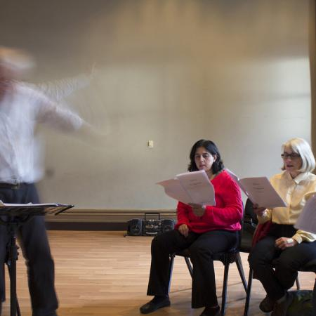 Astra rehearsal