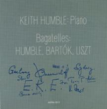 Cover of Bagatelles by Keith Humble